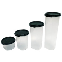 Load image into Gallery viewer, Tupperware Modular Mates Black Round Set-Tupperware 4 Sale
