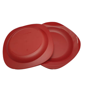 Tupperware Royal Red Serving Set-Tupperware 4 Sale