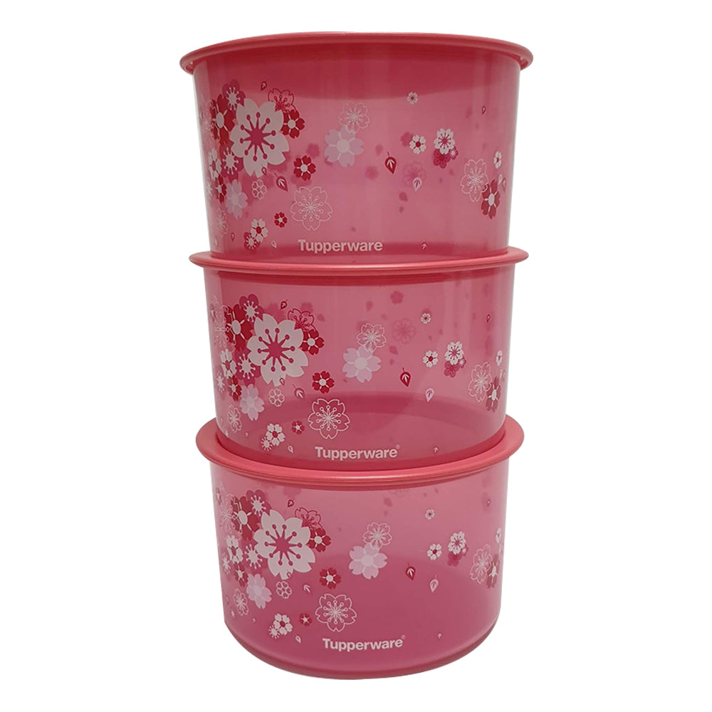Tupperware Liquid Tight & Airtight Sakura One Touch Topper Set-Tupperware 4 Sale