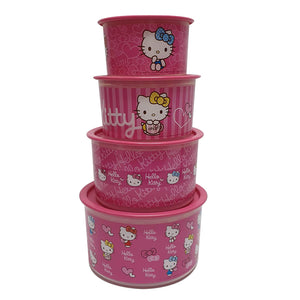 Tupperware Hello Kitty Limited Edition One Touch Set