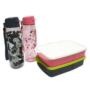 Tupperware H2GO Tumblers Set with Freebies-Tupperware 4 Sale