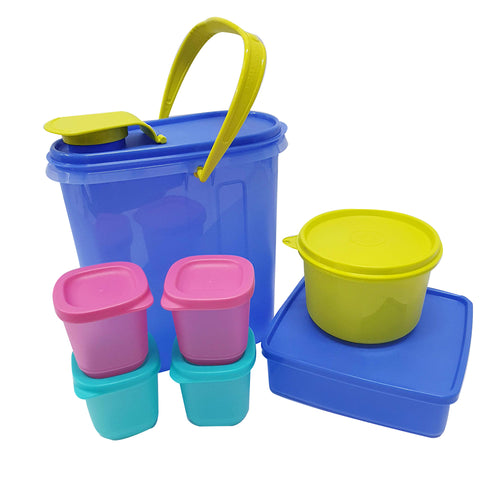 Tupperware Jolly Trio Picnic Set With Freebies