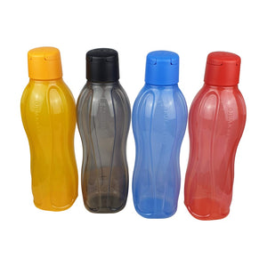 Tupperware Eco Drinking Bottles 1L x 4 Units