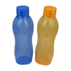 Tupperware Eco Drinking Bottles 750ml (Yellow & Blue)