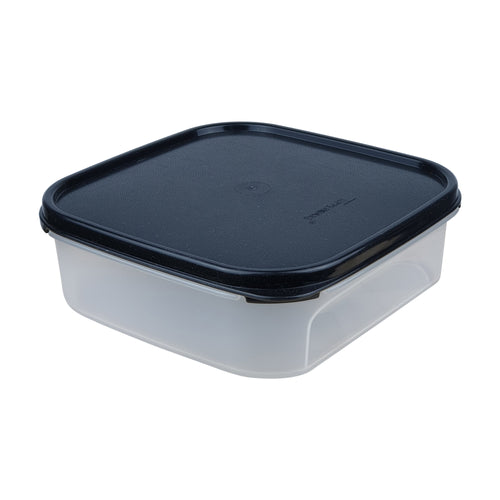Tupperware Modular Mates Black Square I - 1.2L
