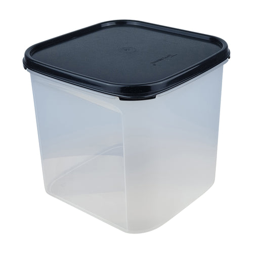 Tupperware Modular Mates Black Square III - 4.0L
