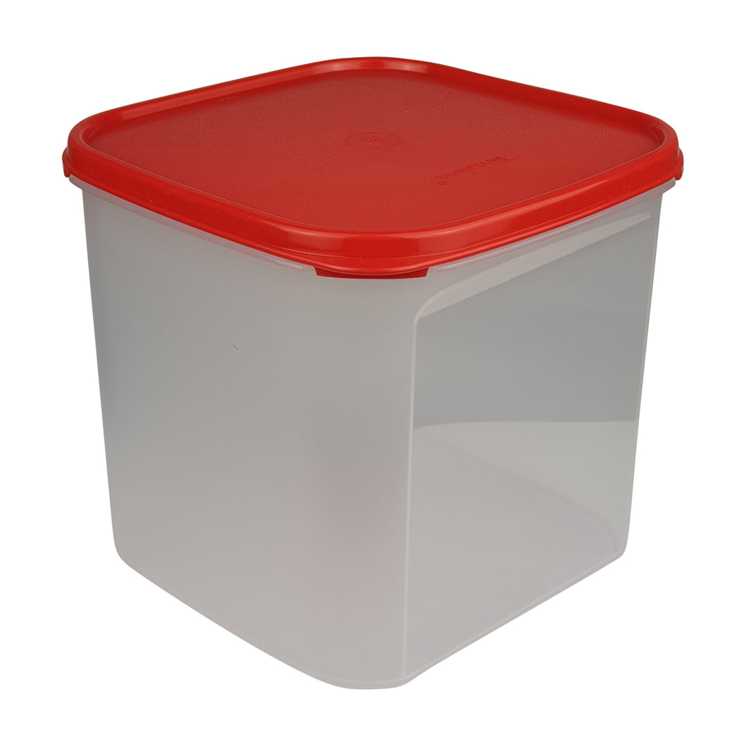Tupperware Modular Mates Red Square III - 4.0L
