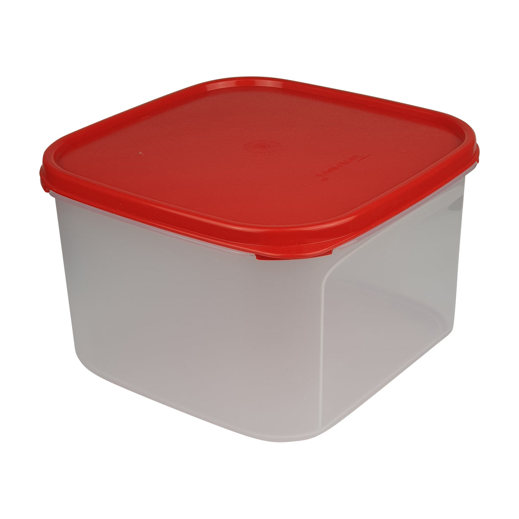 Tupperware Modular Mates Red Square II - 2.6L