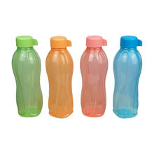 Load image into Gallery viewer, Tupperware Eco Drinking Bottles 500ml Screw Top x 4 Units