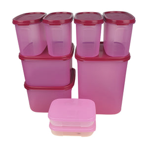 Tupperware Mates Pantry Pink Set