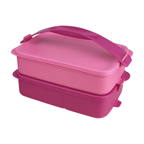 Tupperware Click To Go Lunch Box - Lavender Love