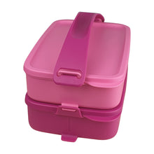Load image into Gallery viewer, Tupperware Click To Go Lunch Box - Lavender Love