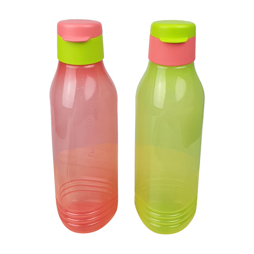 Tupperware Triangle Quencher Set (Pink & Green)