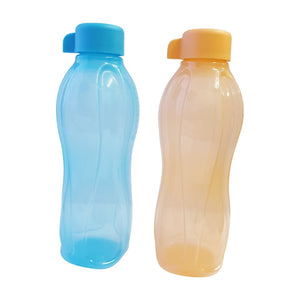 Tupperware Eco Drinking Bottles 500ml (Orange & Blue)