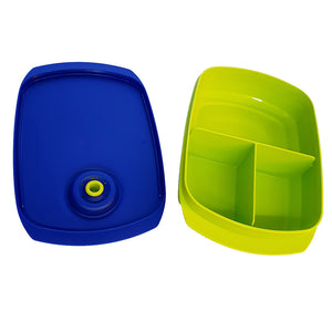 Tupperware Reheatable Divided Lunch Box