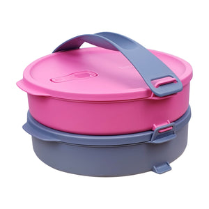 Tupperware Microweavable Round Click To Go