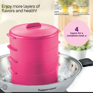 Tupperware Steam It with Freebies & Gift Box