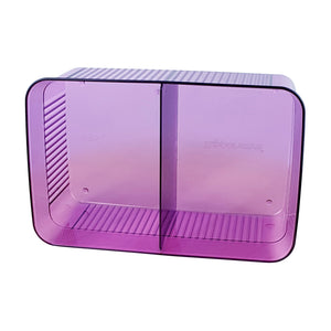 Tupperware Elegant Crystal Purple Snack It