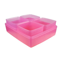 Load image into Gallery viewer, Tupperware Limited Edition Pink Snowflakes Gift Set For Chiller