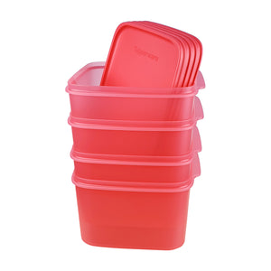 Tupperware Smart Saver Square Containers