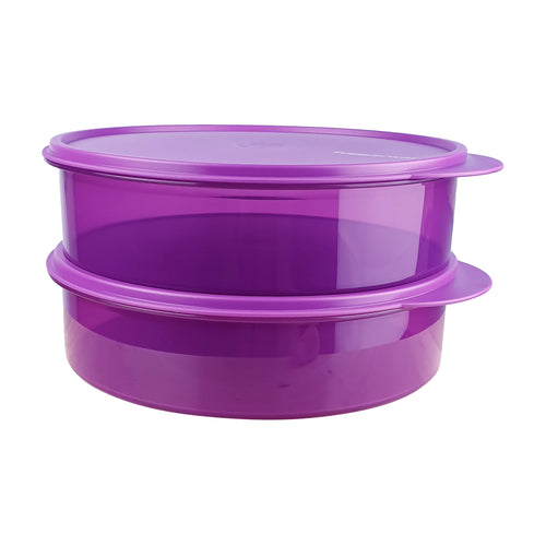Tupperware Purple Clear Condiment Keeper