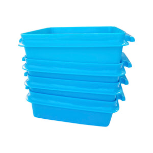 Tupperware Small Goody Box with Carolier - Blue