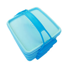 Load image into Gallery viewer, Tupperware Small Goody Box with Carolier - Blue