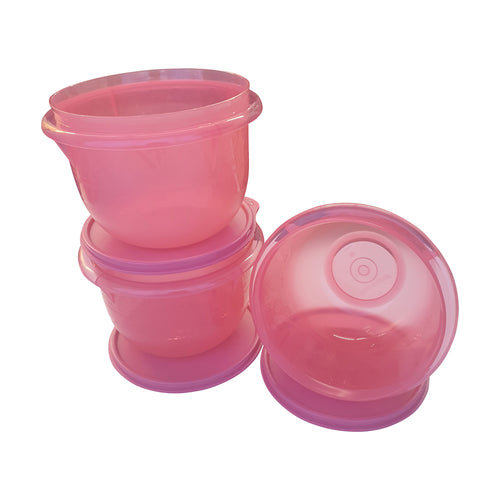 Tupperware Santa Fe Bowls 1.2L - 3 Units