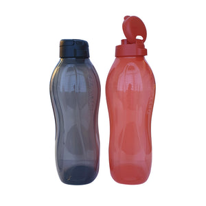 Tupperware Giant Eco Drinking Bottle (Red & Black) 2.0L with Handle