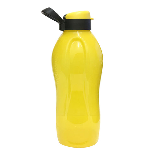 Tupperware Giant Eco Drinking Bottle (Yellow) 2.0L with Handle