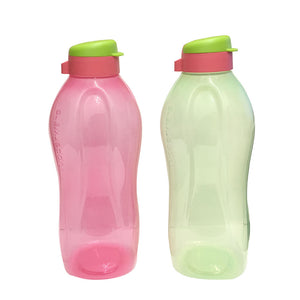 Tupperware Giant Eco Drinking Bottle (Green & Red) 2.0L