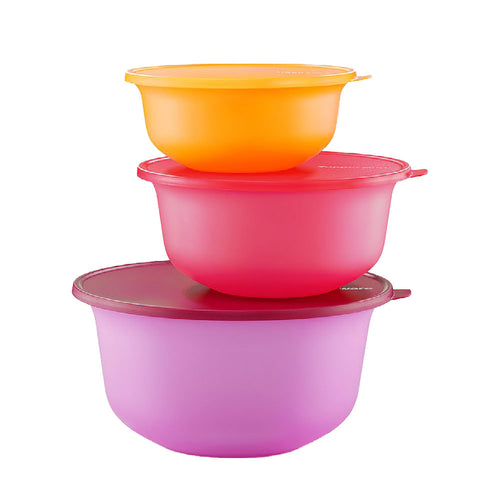 Tupperware Aloha Bowl Set