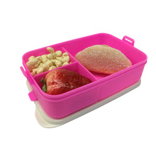 Load image into Gallery viewer, Tupperware Click To Go Lunch Box - Neon Pink