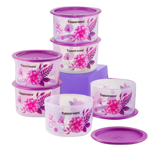 Tupperware Camellia One Touch Topper Junior Set