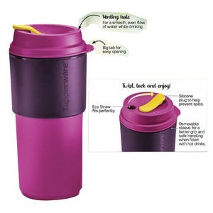 Tupperware Coffee To Go - Purple