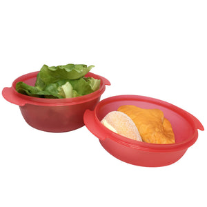 Tupperware CrystalWave Bowl Set With Strap
