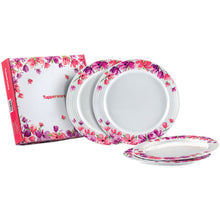 Load image into Gallery viewer, Tupperware Garden Blooms Melamine Plates