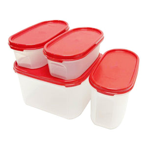 Tupperware Modular Mates Starter Set - Red