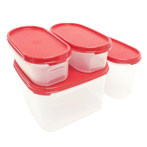 Tupperware Modular Mates Starter Set - Red-Tupperware 4 Sale