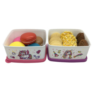 Tupperware Unicorn Snack Box