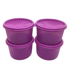 Load image into Gallery viewer, Tupperware Mini Deco Canister - Violet