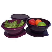 Load image into Gallery viewer, Tupperware Round Wonderlier Bowl Set