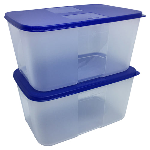 Tupperware FreezerMate Medium III Set of 2 - Blue