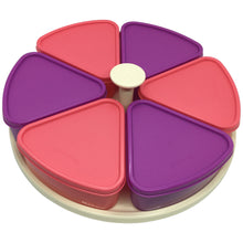 Load image into Gallery viewer, Tupperware Modular Carousel Containers (Pink / Purple)