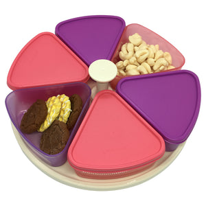 Tupperware Modular Carousel Containers (Pink / Purple)