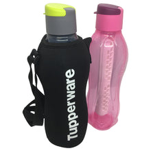 Load image into Gallery viewer, Tupperware Eco Drinking Bottles 1.5L Flip Top with Fruit Infuser & Pouch