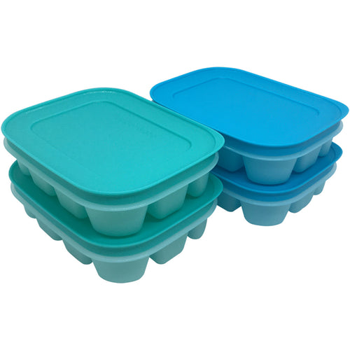 Tupperware Chill Freez Ice Tray Set