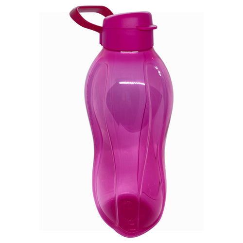Tupperware Giant Eco Drinking Bottle (Light Pink) 2.0L With Handle
