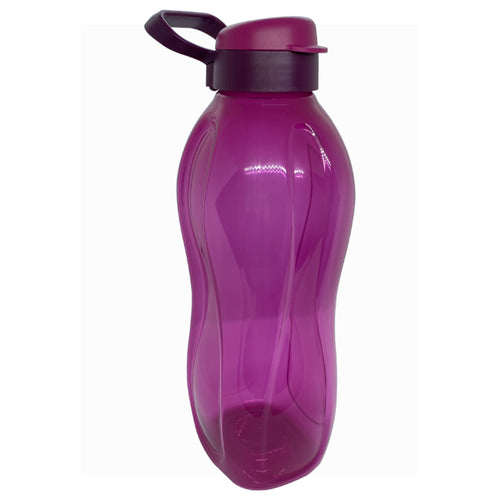 Tupperware Giant Eco Drinking Bottle (Dark Purple) 2.0L With Handle