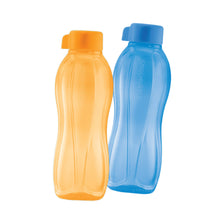 Load image into Gallery viewer, Tupperware Eco Drinking Bottles 750ml (Yellow & Blue)
